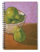 Pears In Bowl Spiral Notebook