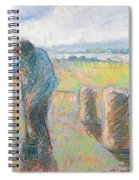 Peasants In The Fields Spiral Notebook