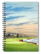 Pebble Beach Golf Course 18th Hole Spiral Notebook