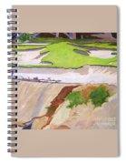 Pebble Beach Sand Spiral Notebook
