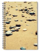 Pebbles On The Beach Spiral Notebook