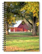 Pecan Orchard Barn Spiral Notebook