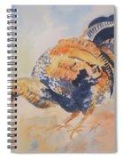 Pecking Spiral Notebook