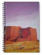Pecos Mission Landscape Spiral Notebook