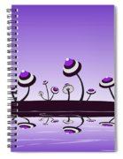 Peculiar Mushrooms Spiral Notebook