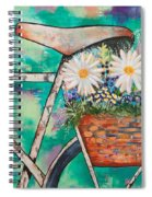 Pedal Petal Spiral Notebook