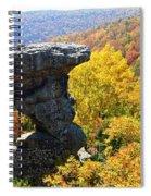 Pedestal Rock Spiral Notebook
