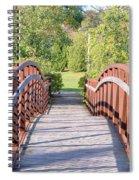 Pedestrian Bridge Spiral Notebook