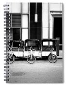 Pedicab Nyc Spiral Notebook