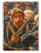 Pedro Americo Self Protriat Spiral Notebook