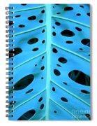 Peek-a-boo Leaf Spiral Notebook