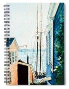 Peek At The Bluenose Spiral Notebook