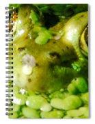 Peeping Through The Algae  Spiral Notebook