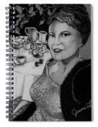 Peggy Lee Spiral Notebook