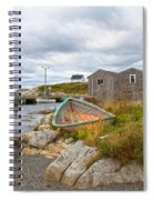 Peggy's Cove 12 Spiral Notebook