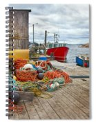 Peggy's Cove 17 Spiral Notebook