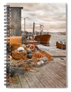 Peggy's Cove 17b Hue Spiral Notebook