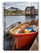Peggy's Cove 19 Spiral Notebook