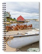 Peggy's Cove 4 Spiral Notebook