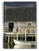 Peggys Cove Fishing Village Spiral Notebook