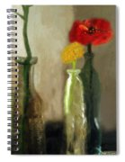 Peggy's Flowers Spiral Notebook