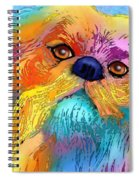Pekingese Spiral Notebook