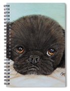 Buddy The Pekingese Spiral Notebook