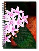 Pelargonium Graveolens II Spiral Notebook