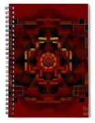 Pele Goddess Of Fire 2013 Spiral Notebook