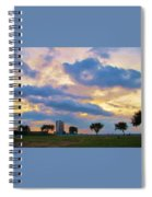 Lakeway Pelican Cloud Spiral Notebook