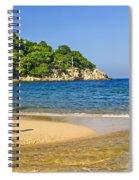 Pelican On Beach Spiral Notebook