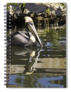 Pelican Reflected Spiral Notebook