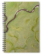 Pelican Valley Abstract Spiral Notebook