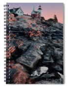 Pemaquid In Early Morning Light Spiral Notebook