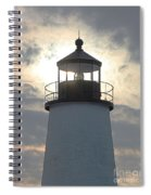 Pemaquid Lighthouse - The Tower  Spiral Notebook