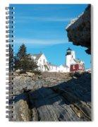 Pemaquid Point 22 Spiral Notebook