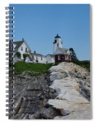 Pemaquid Point Light House Spiral Notebook