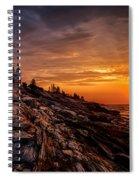 Pemaquid Sunrise  Spiral Notebook
