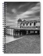 Penarth Pier 1 Mono Spiral Notebook