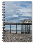 Penarth Pier Panorama 1 Spiral Notebook