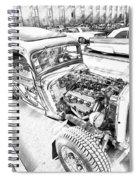Pencil Rod Spiral Notebook