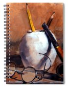 Pencils And Pipe Spiral Notebook