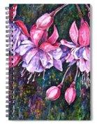 Pendientes De La Reina Spiral Notebook
