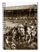 Pendleton Round-up Oregon Lewis Josselyn Photo Sept. 1929 Spiral Notebook