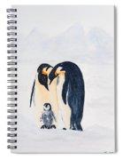 Penguin Family Spiral Notebook