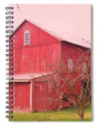 Pennsylvania Barn  Cira 1700 Spiral Notebook