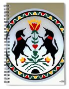 Pennsylvania Dutch Hex 13 Spiral Notebook