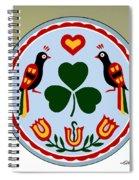 Pennsylvania Dutch Hex 16 Spiral Notebook