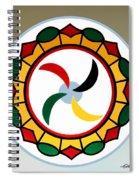 Pennsylvania Dutch Hex 17 Spiral Notebook