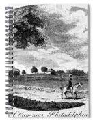 Pennsylvania Farm, 1795 Spiral Notebook